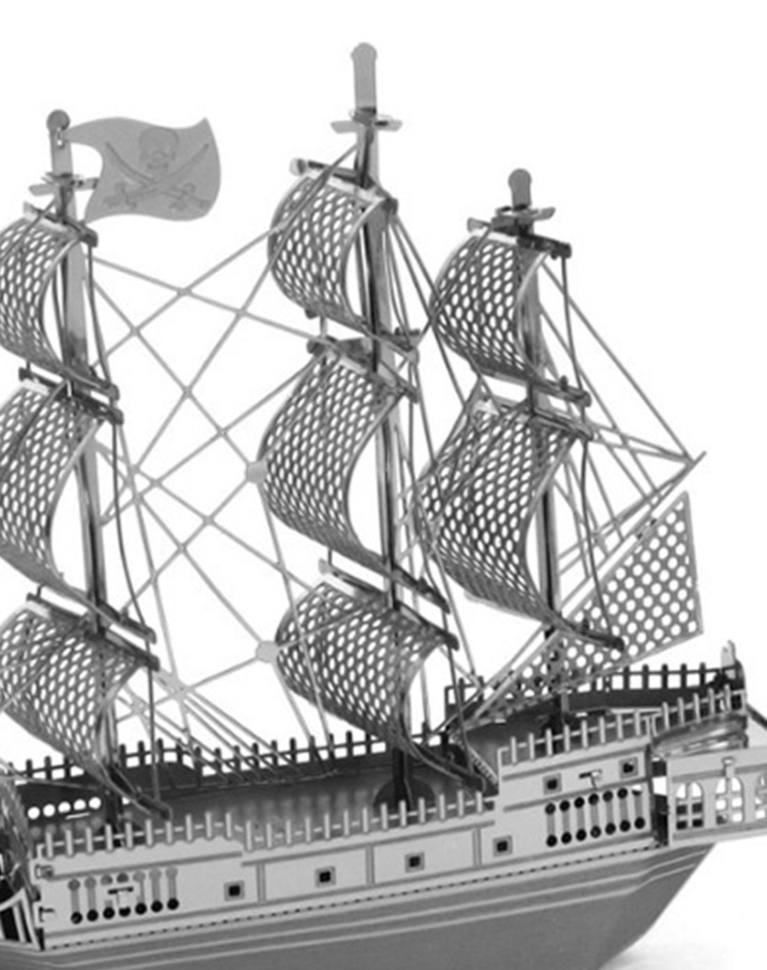 (海盗船)3d微型立体雕塑拼图