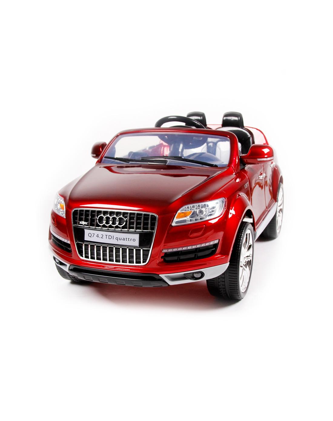 聚品童车混合专场-奥迪q7烤漆2.4g版儿童电动车