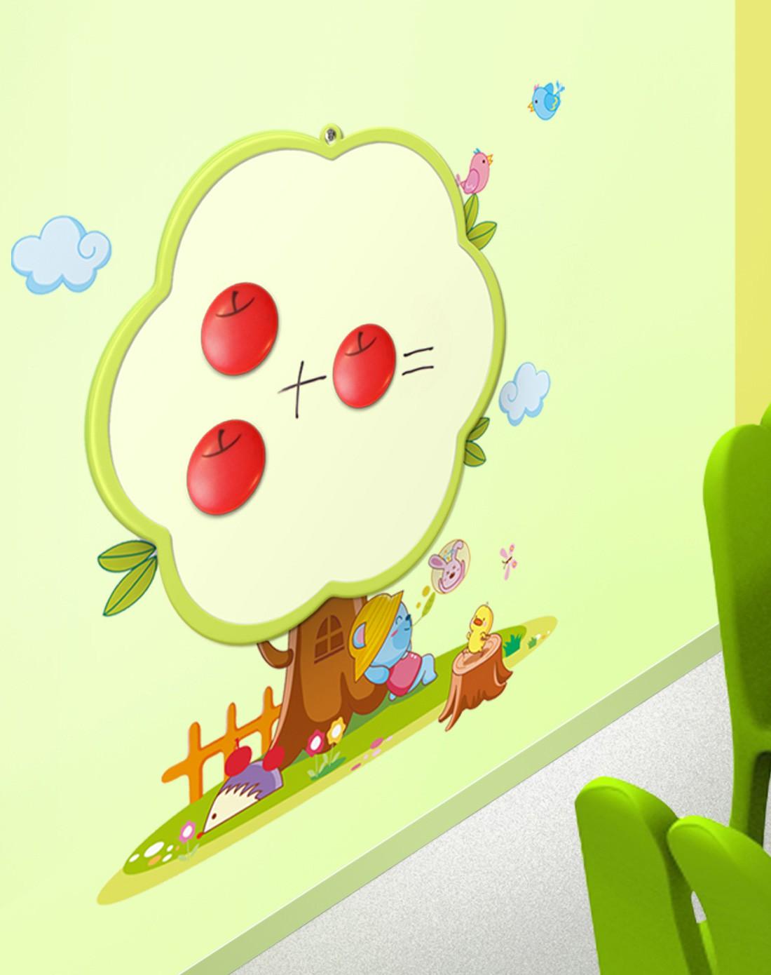 儿童墙贴教学画画写字板游戏亲子互动