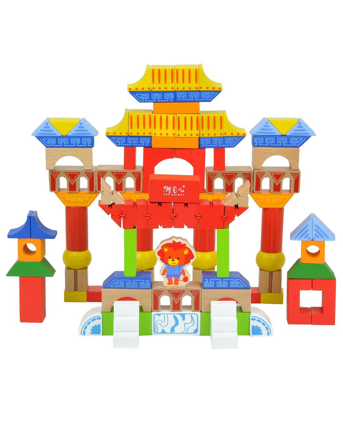 特宝儿中国古代建筑之旅积木