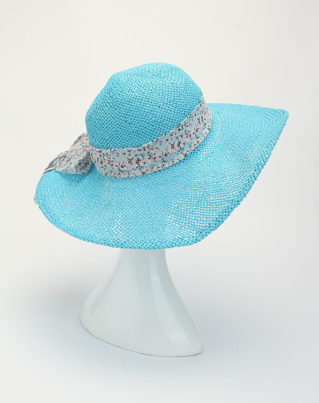 city蓝色纯手工编制时尚帽子hctm1221019022