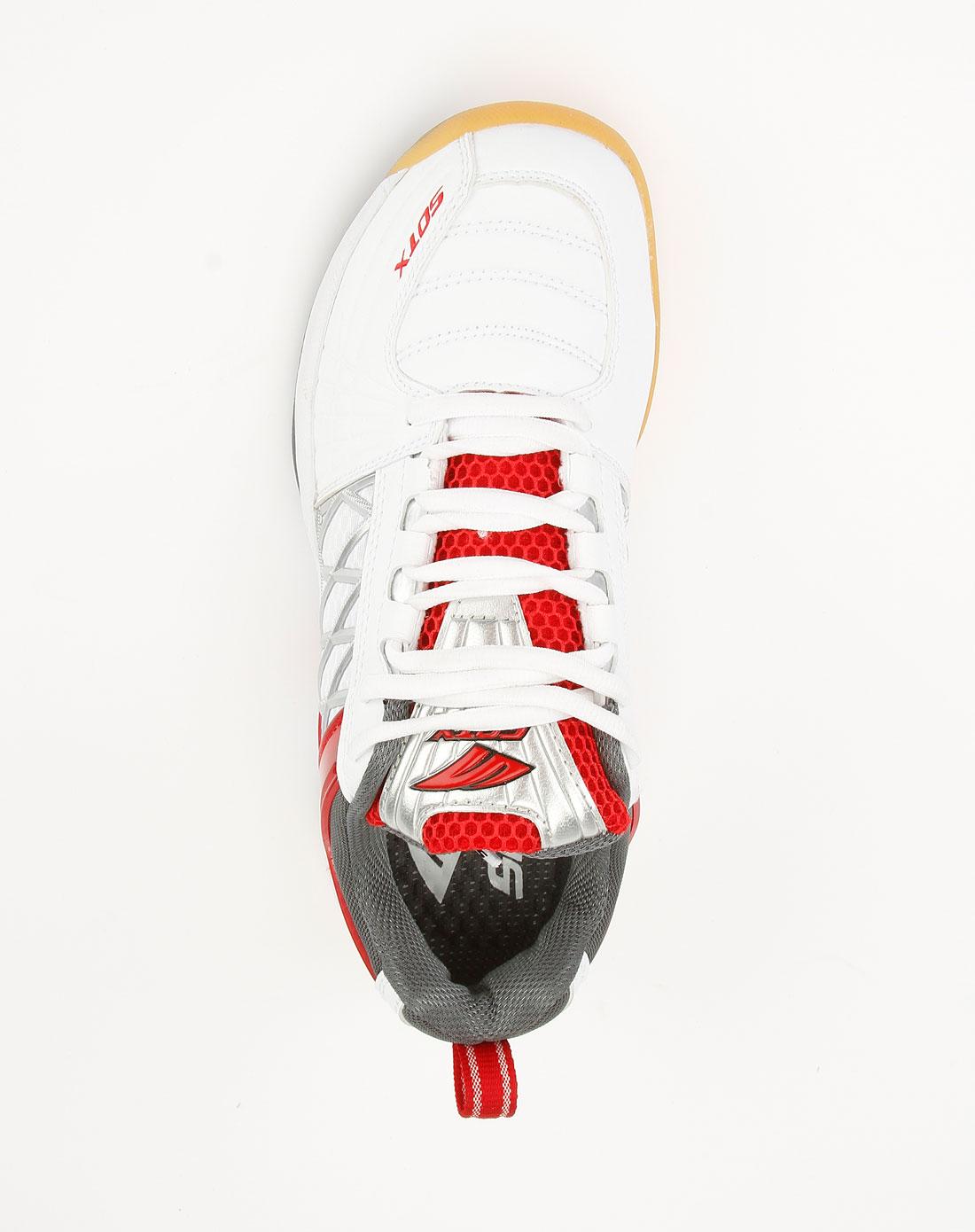 索牌_索牌sotx 男装专场-sotx羽毛球鞋白红色