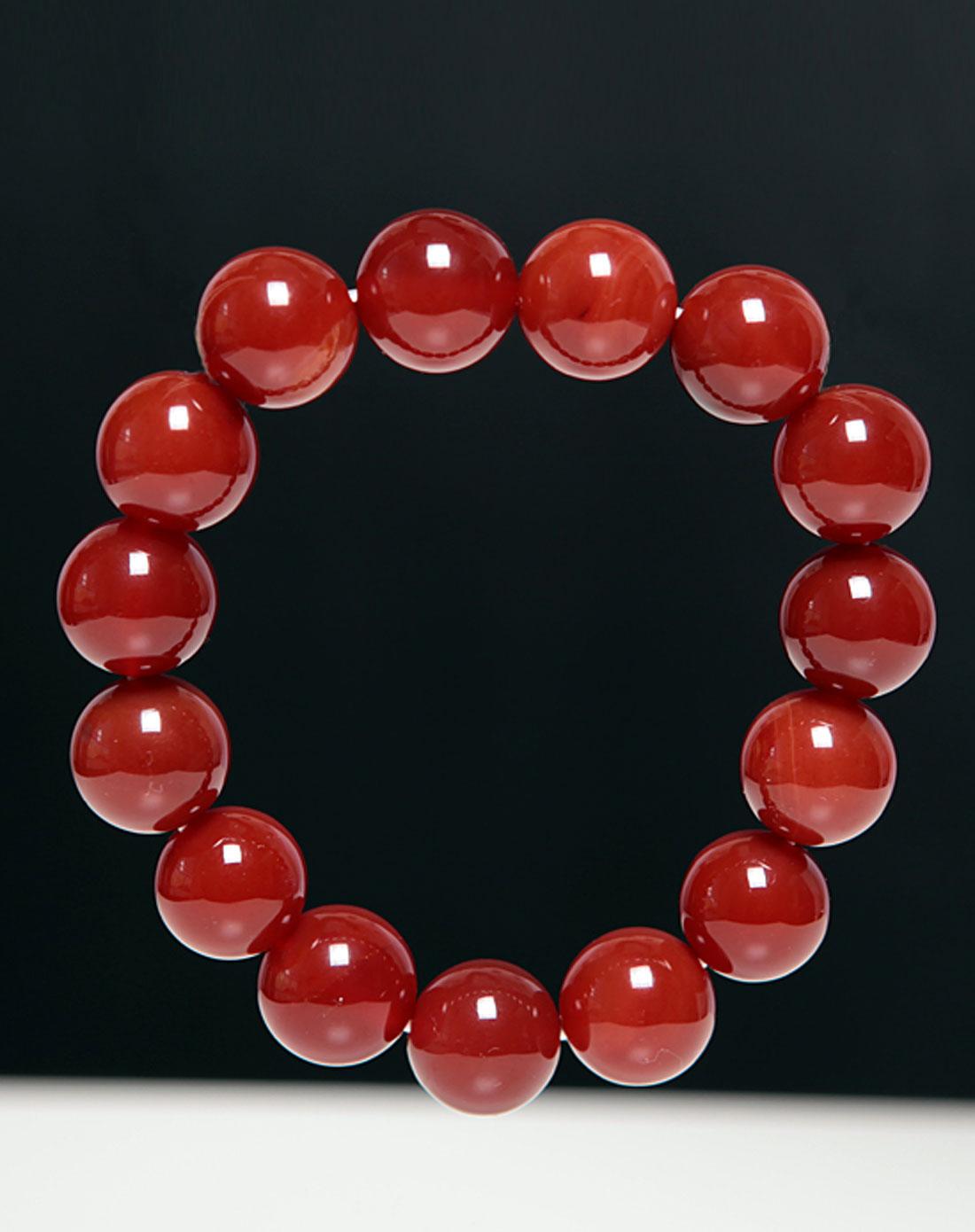 女款红玛瑙手链