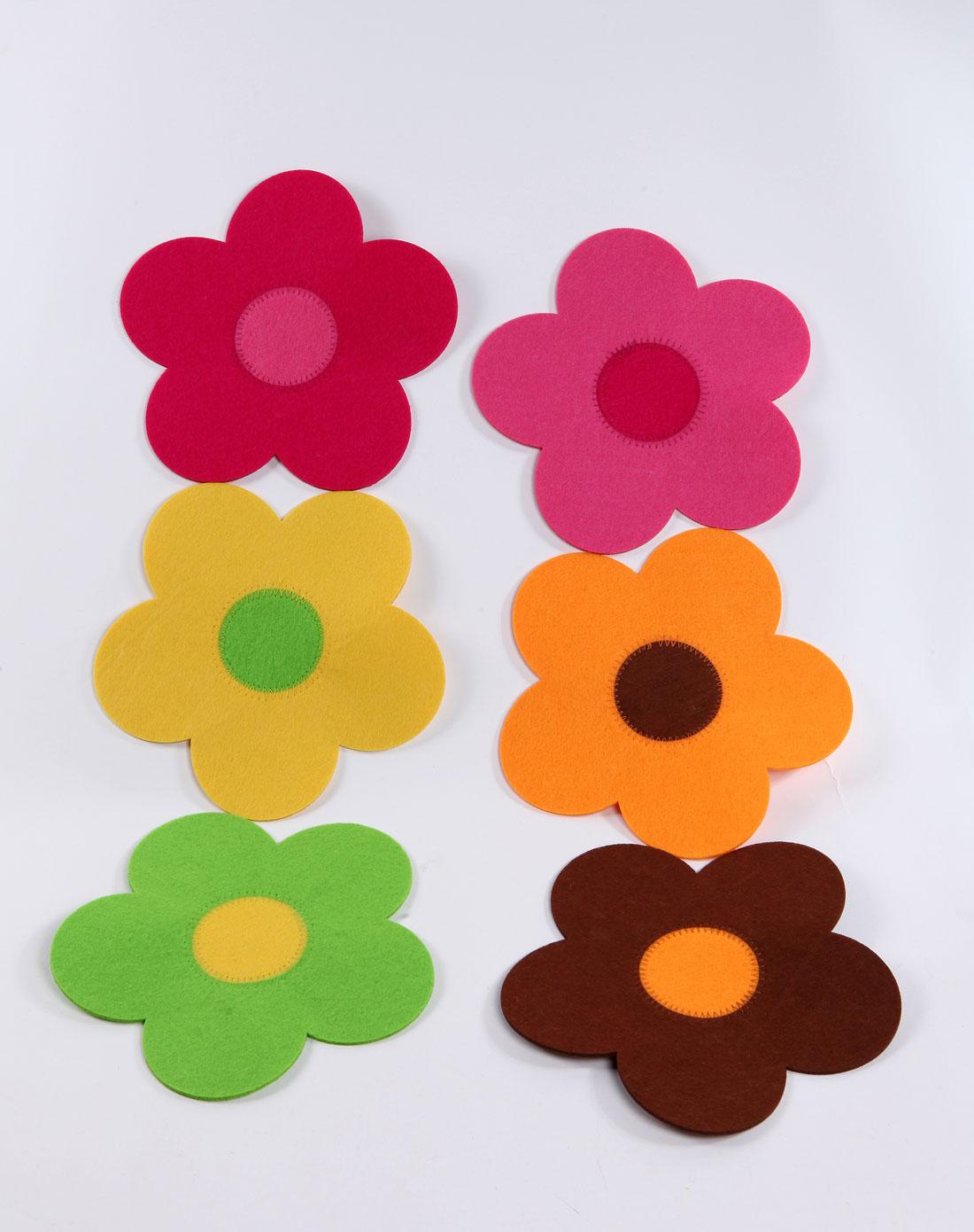 彩色太阳花餐盘垫