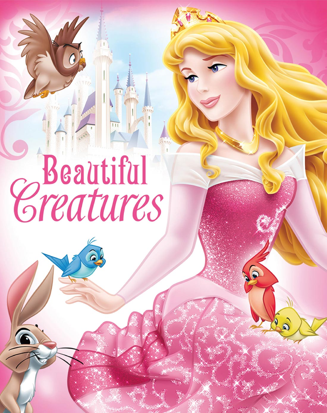 迪士尼disney儿童家具专场挂画-爱洛公主之动物情缘