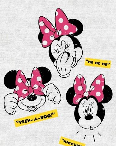 迪士尼disney儿童家具专场挂画-米妮俏皮女孩