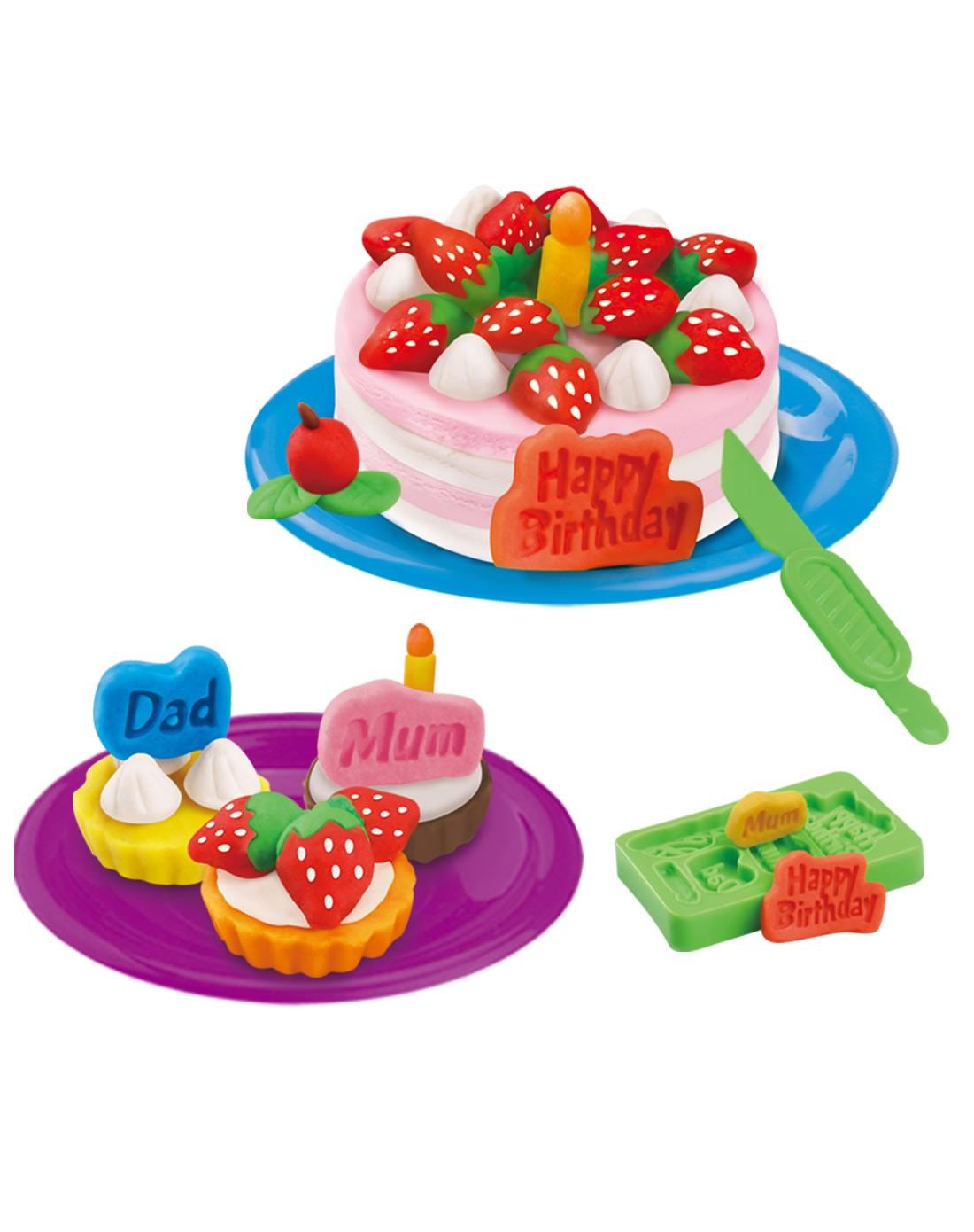 儿童创意彩泥蛋糕套装
