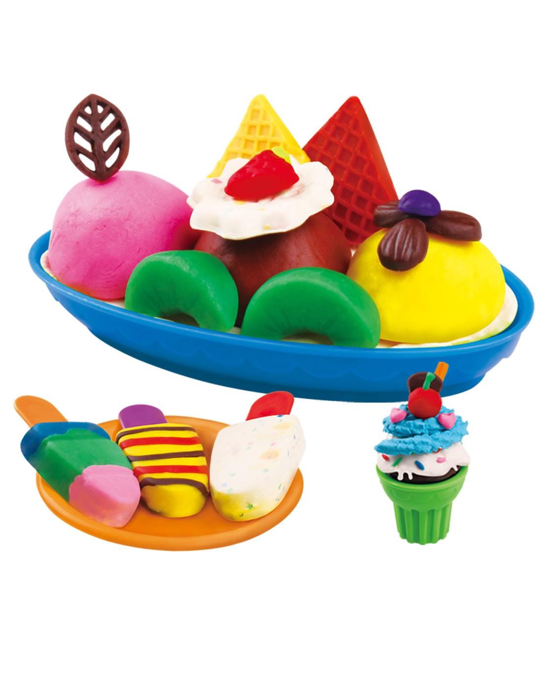 婴侍卫 儿童创意彩泥冰淇淋套装