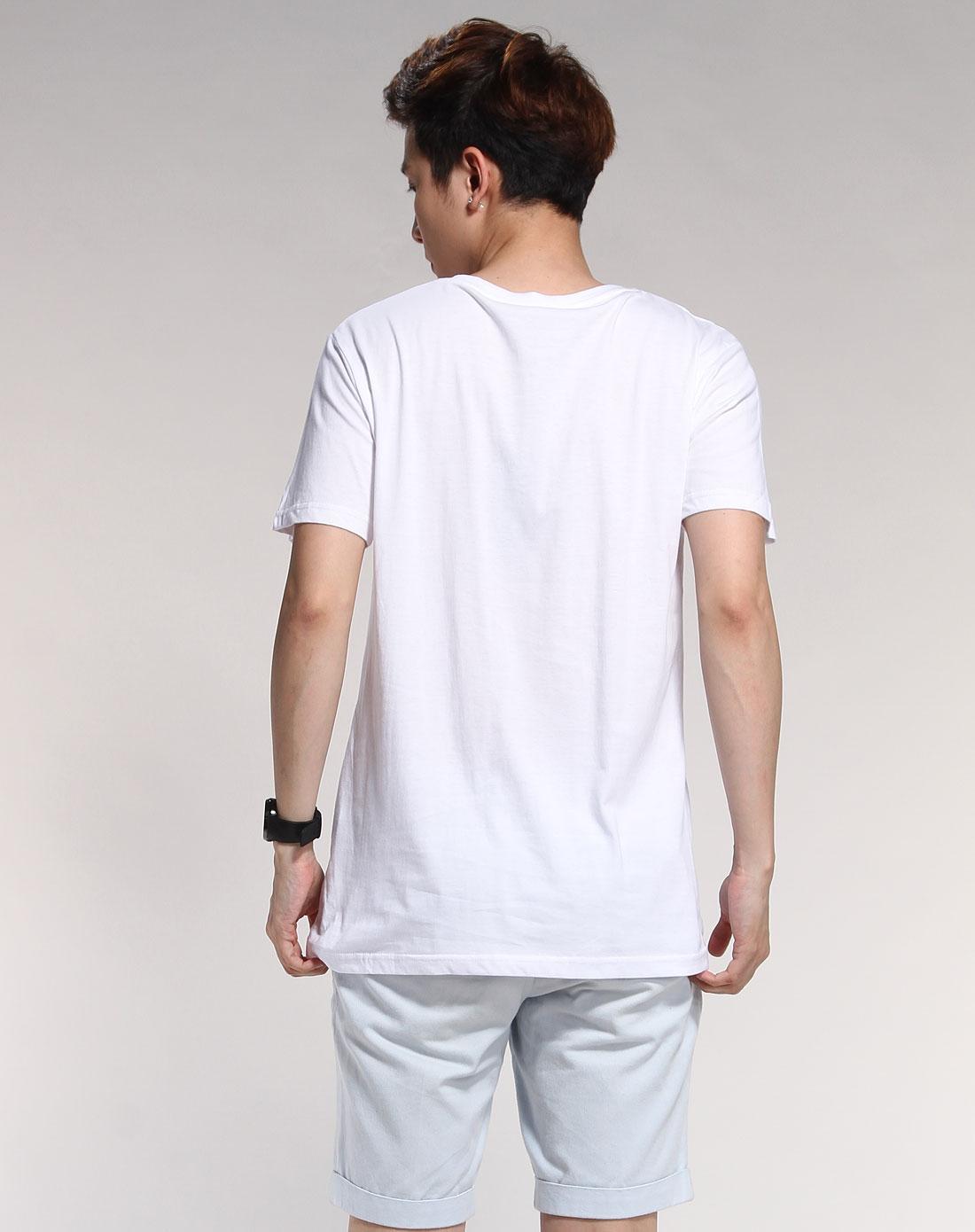 白体恤设计图片正背