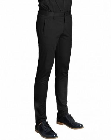 黑色绅士帅气长裤