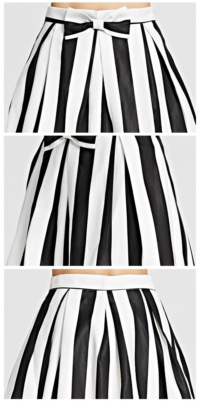doin女装移动专场黑白格时尚名媛少女百搭新款半裙-b
