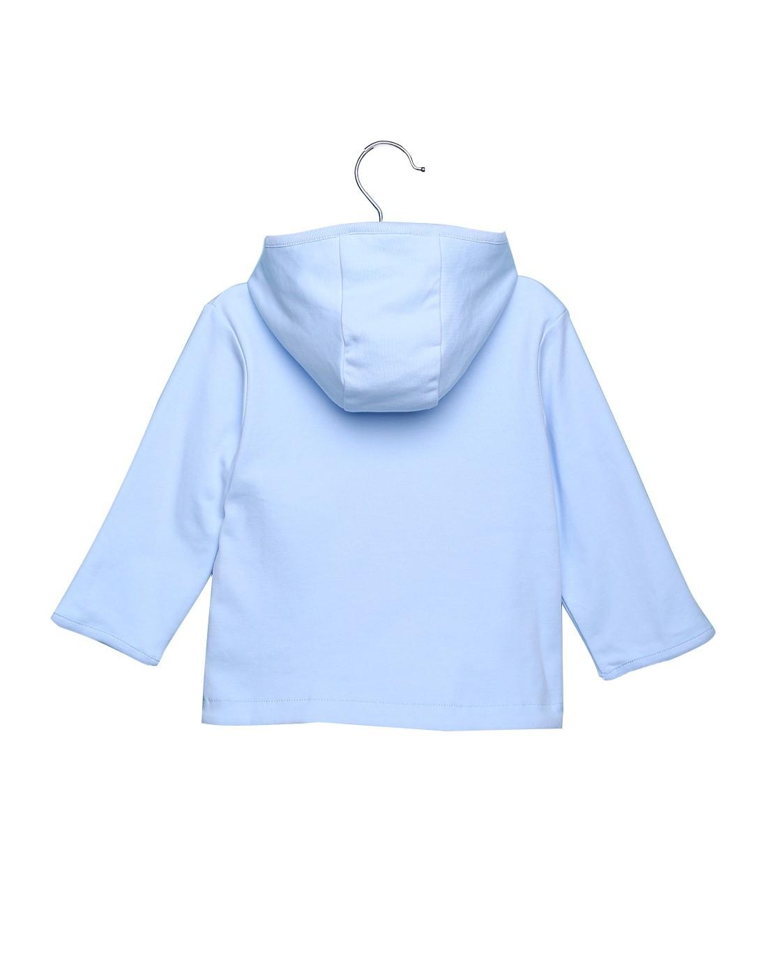 中性浅蓝色可爱外套