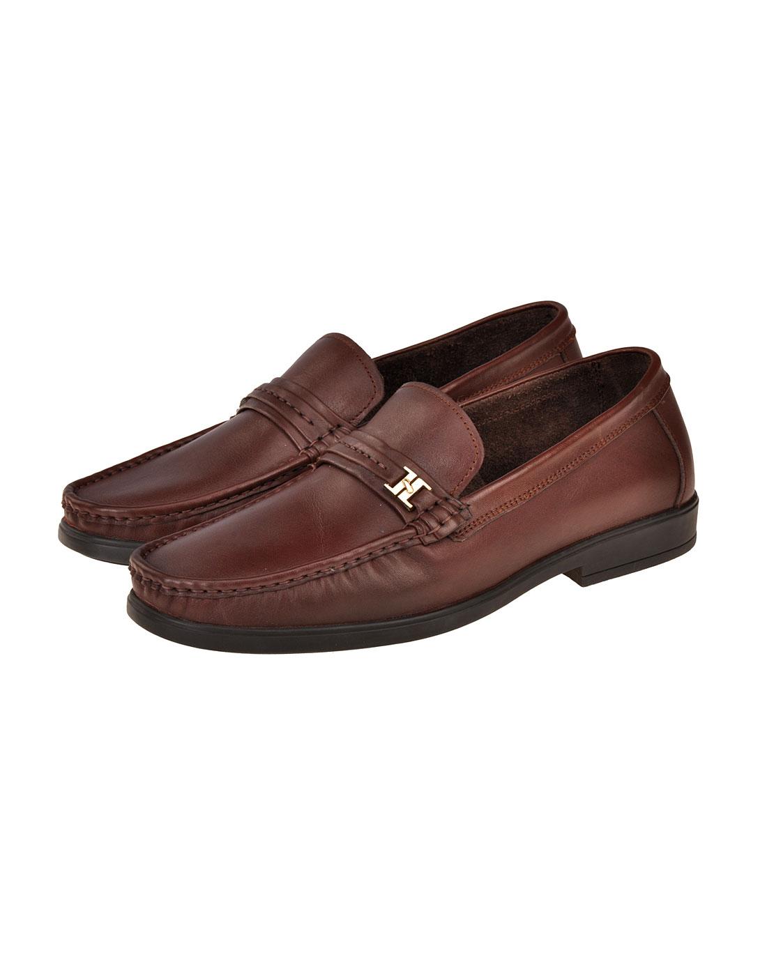 男给u奱c�K�@_u.s. polo assn.男鞋专场-男款棕休闲皮鞋