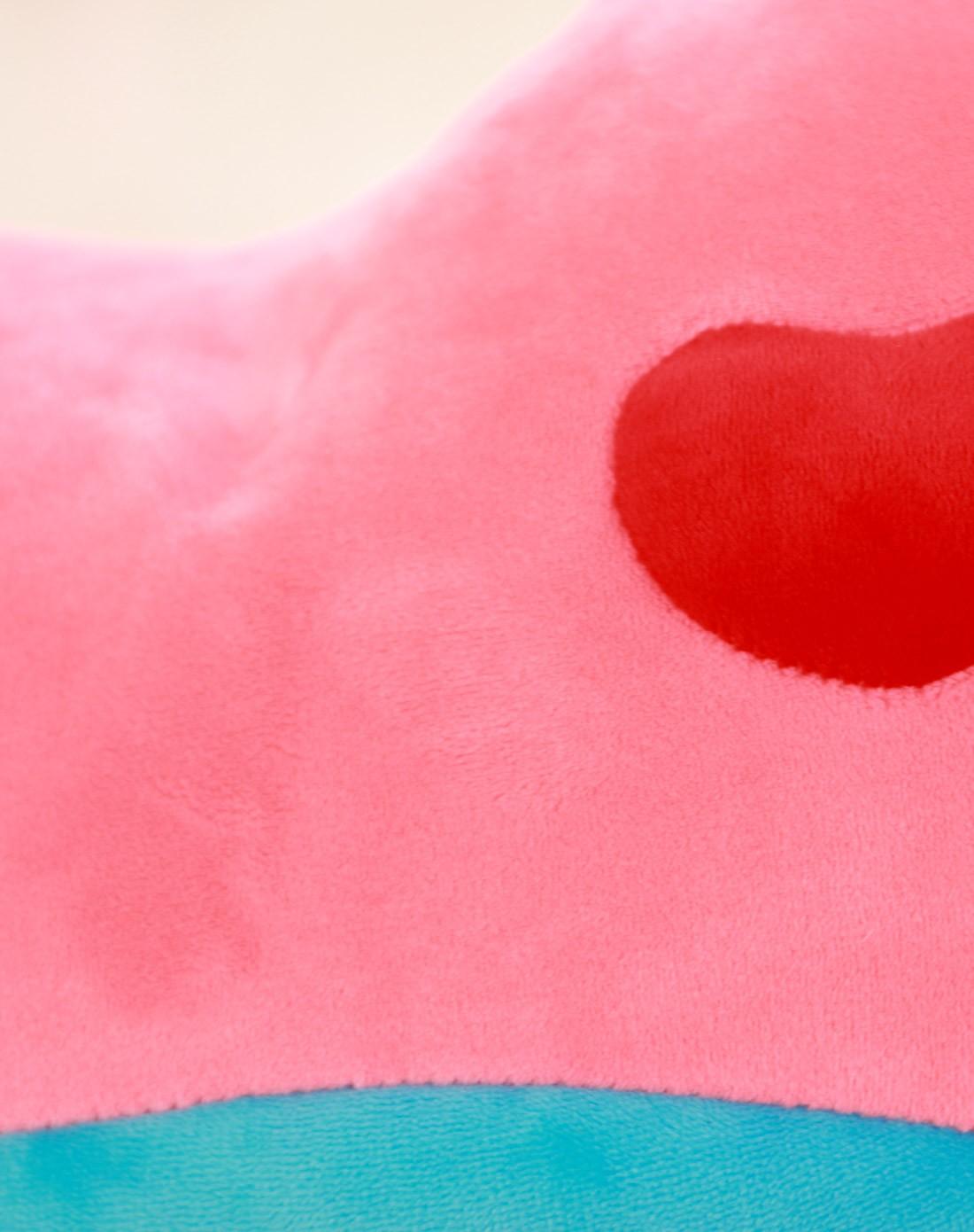 中性粉色泡沫粒子爱心棉花糖抱枕