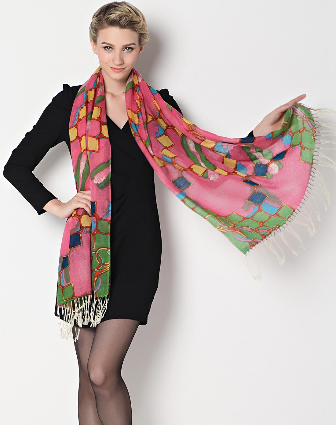 织布人围巾专场少女时代羊毛围巾1104030051