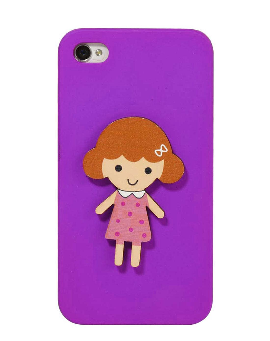 iphone4/4s 可爱小胖妞手机壳