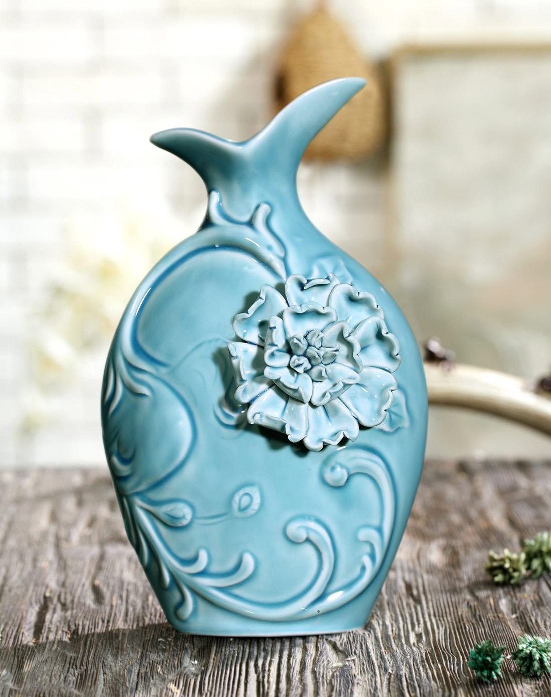 欧式陶瓷浮雕手绘图片