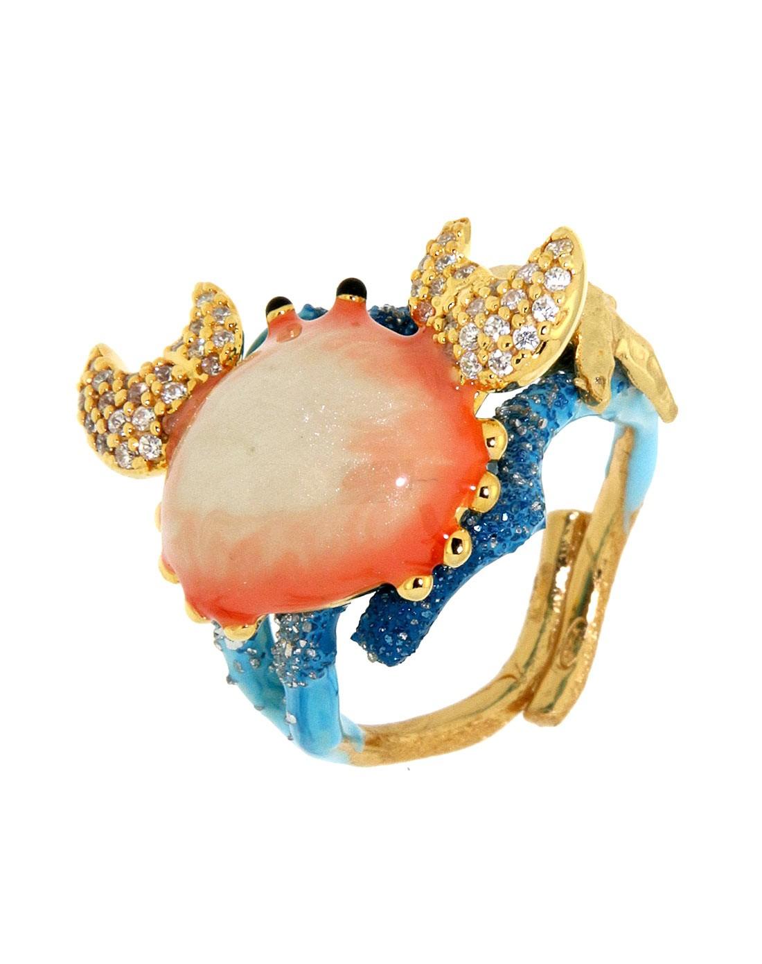 misis珠宝饰品专场-魅力海洋小螃蟹戒指