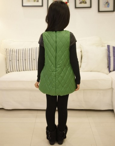 墨绿色连衣裙(厚)-1