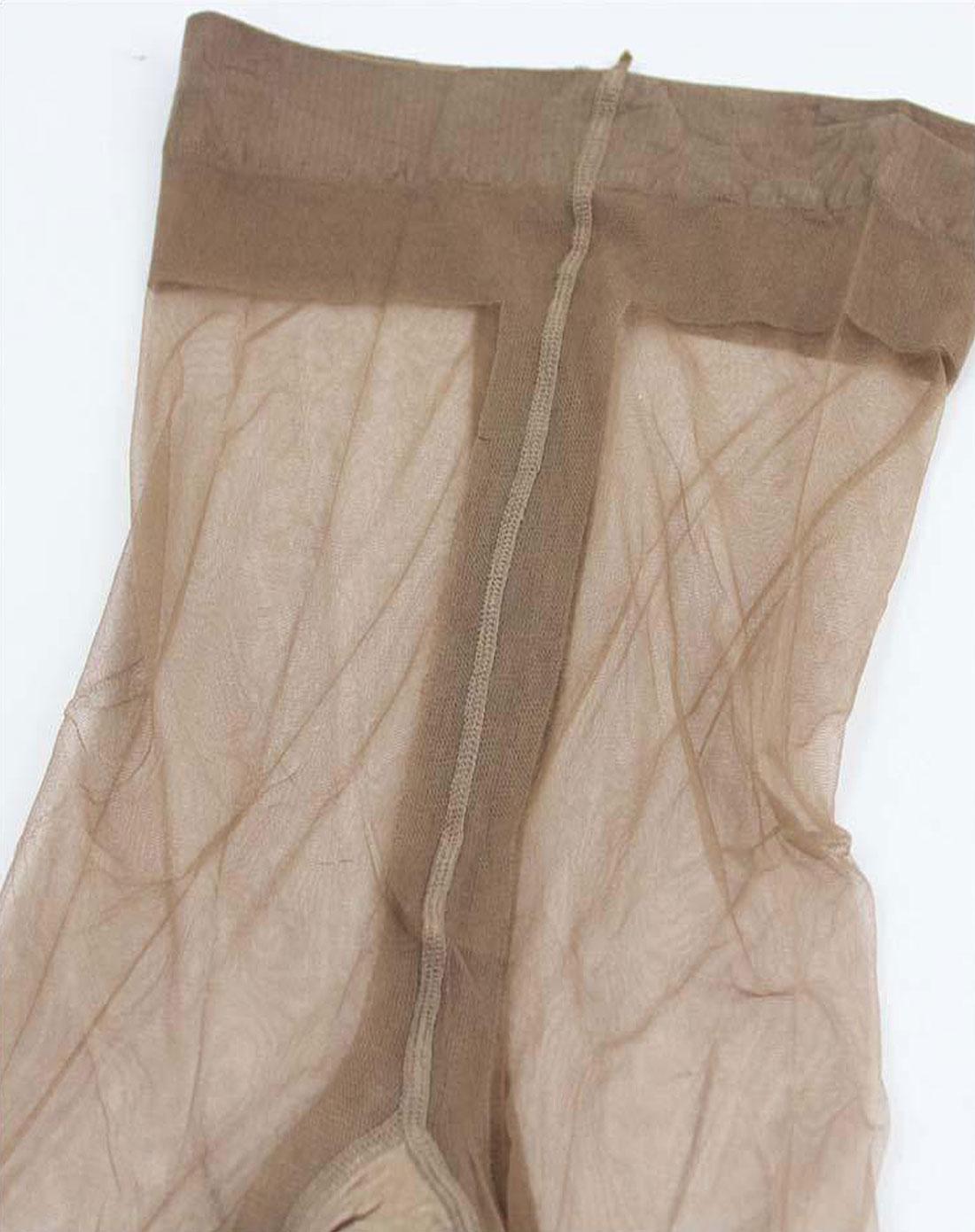 裤袜穴_女款肉色包芯丝t形裆连裤袜(6双装)
