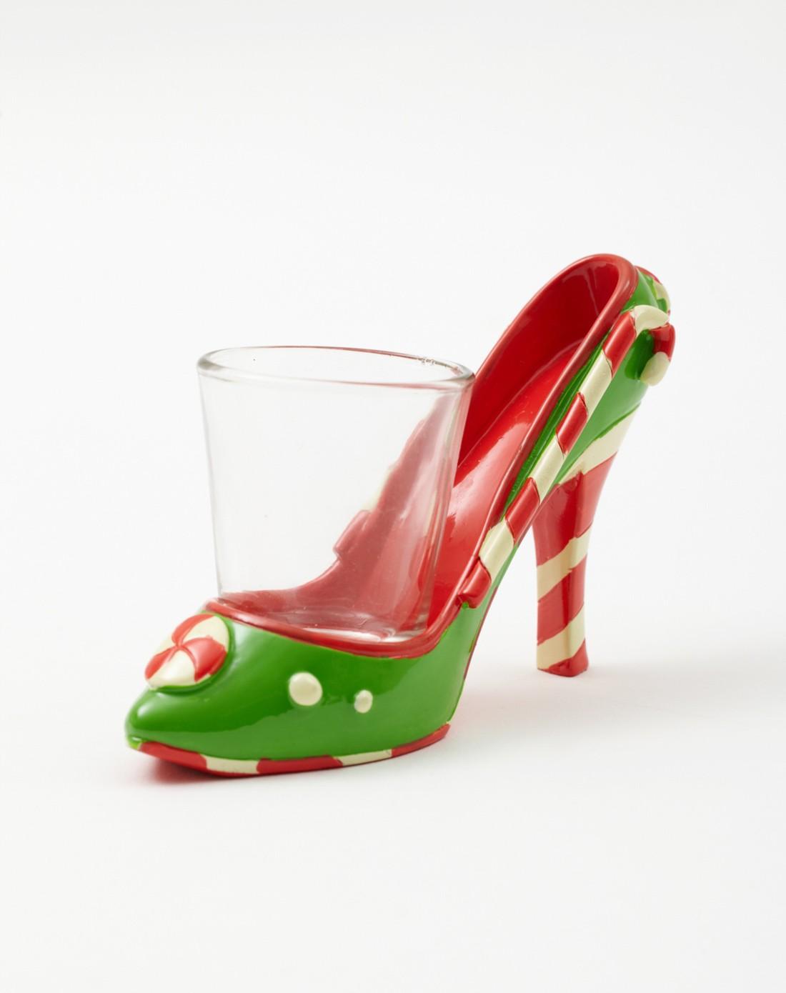 美式创意树脂手绘高跟鞋