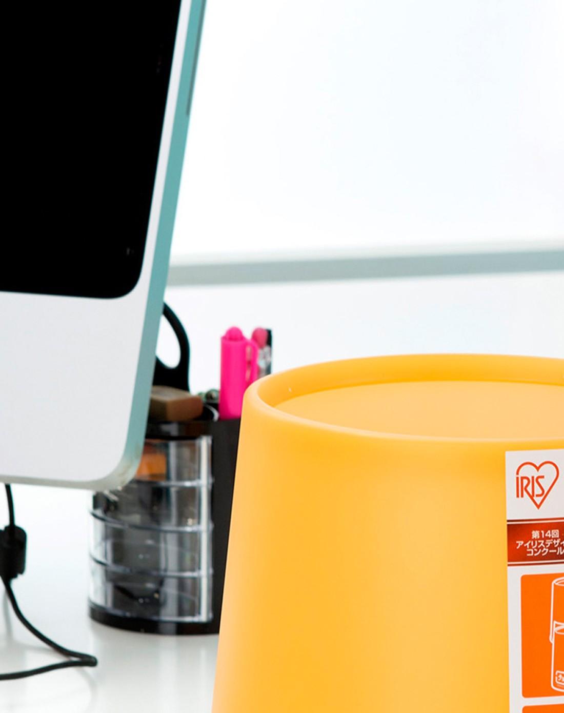 日本iris 桌面分类垃圾桶带分类标示中号