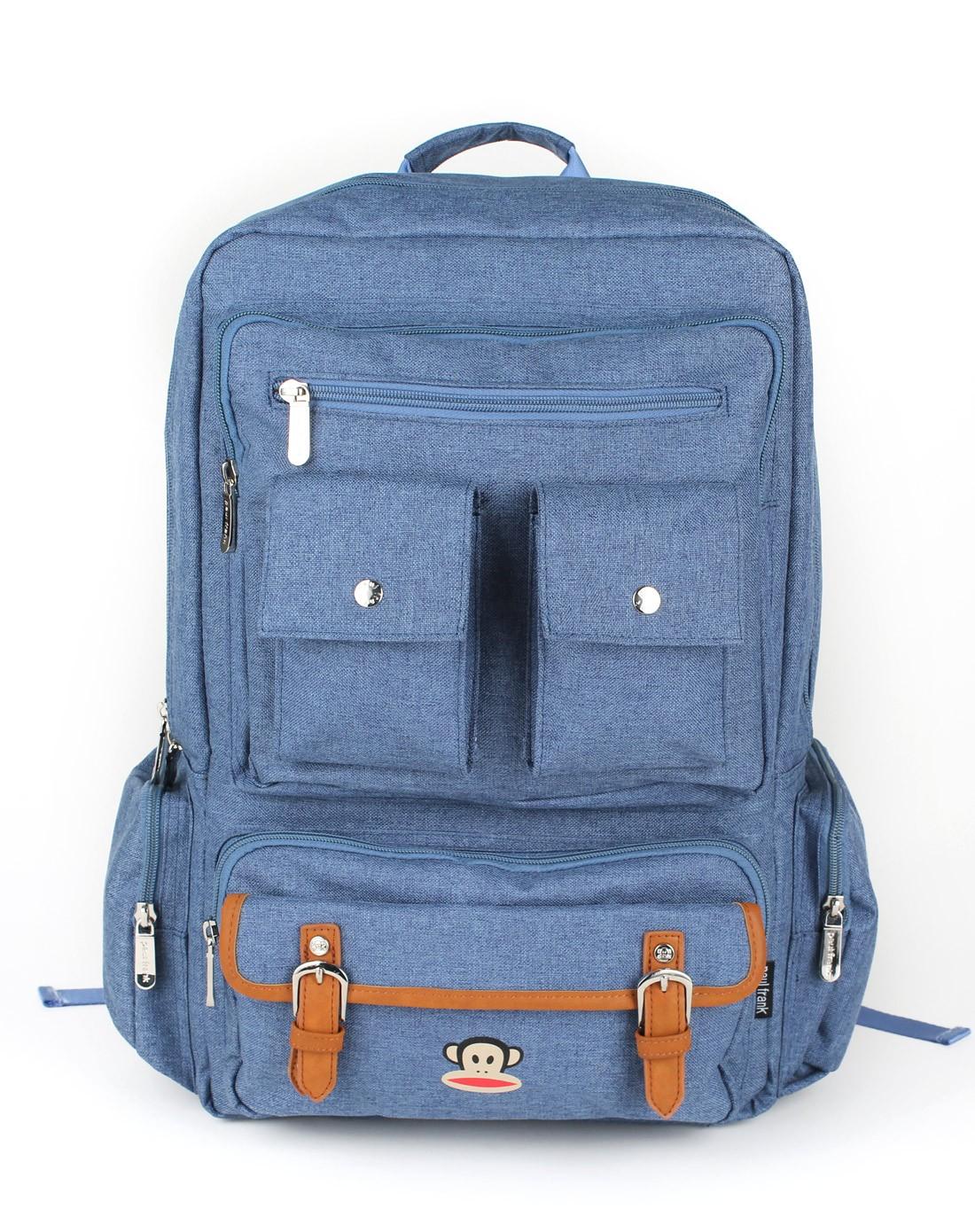 上青大容量双肩背书包男女士手提数码包包学生潮包图片