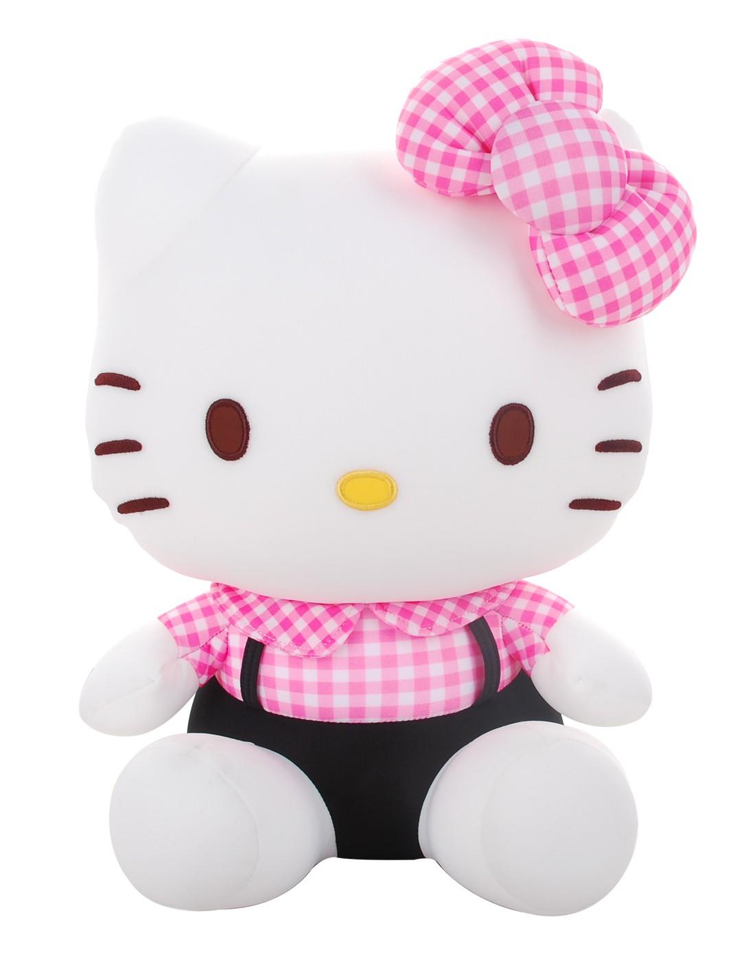 hellokitty粒子玩具格子凯蒂猫-粉红