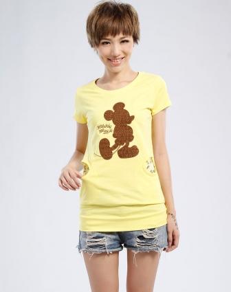 可爱米奇短袖T恤