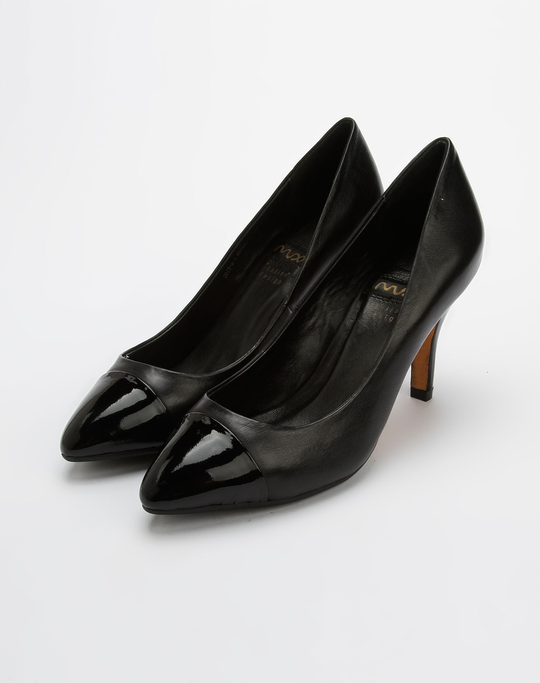 黑色女鞋工作鞋平跟