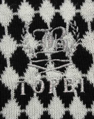 儿童外套&裤子专场-淘帝 男童黑白色开衫毛衣