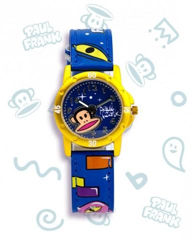 卡通儿童手表黄色