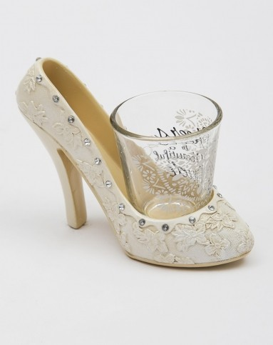 美式创意树脂手绘高跟鞋酒架+烈酒杯礼盒
