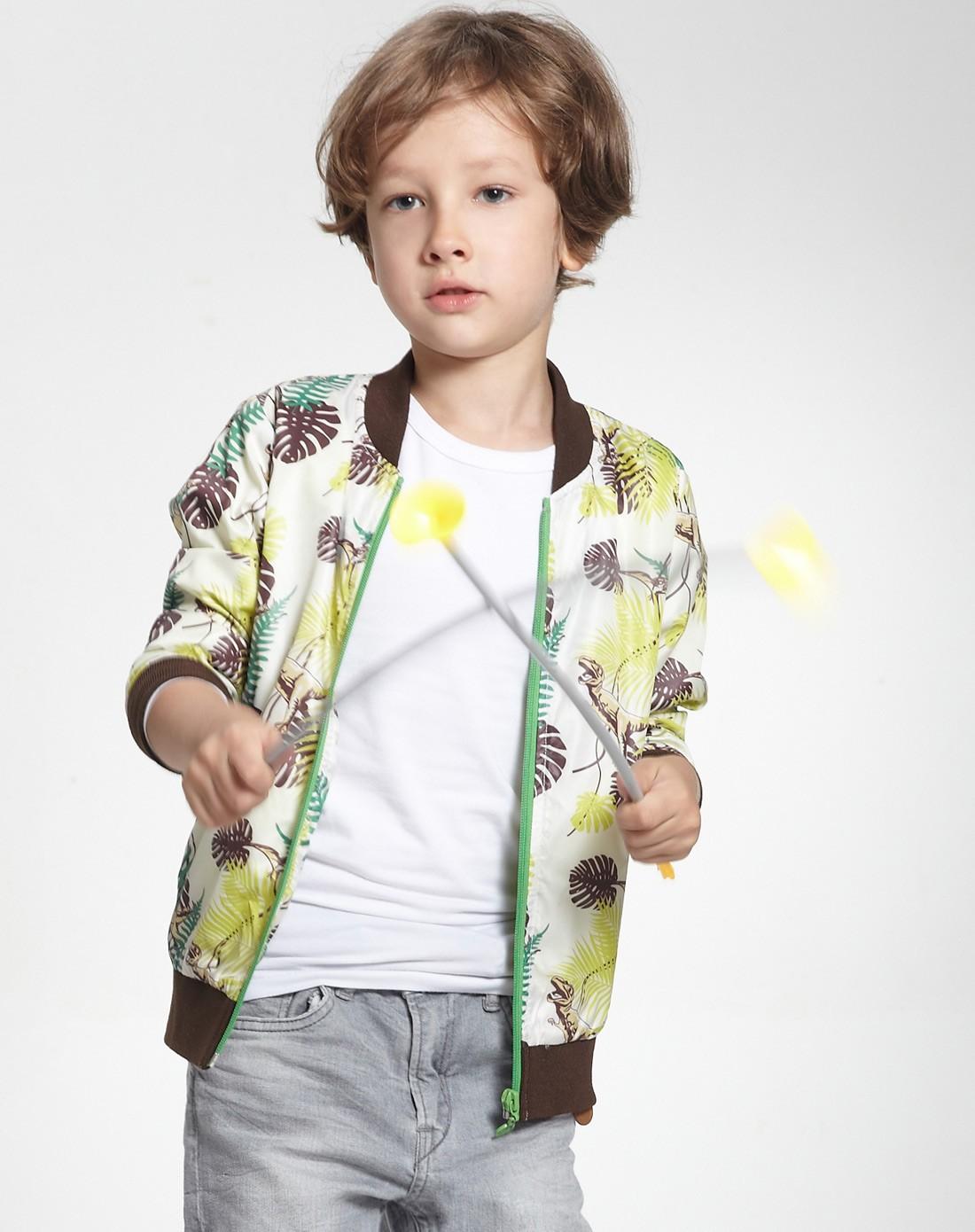 mini男童专场男童清新白外套jk0222b