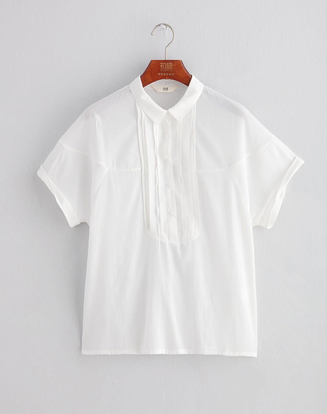 白t恤背面