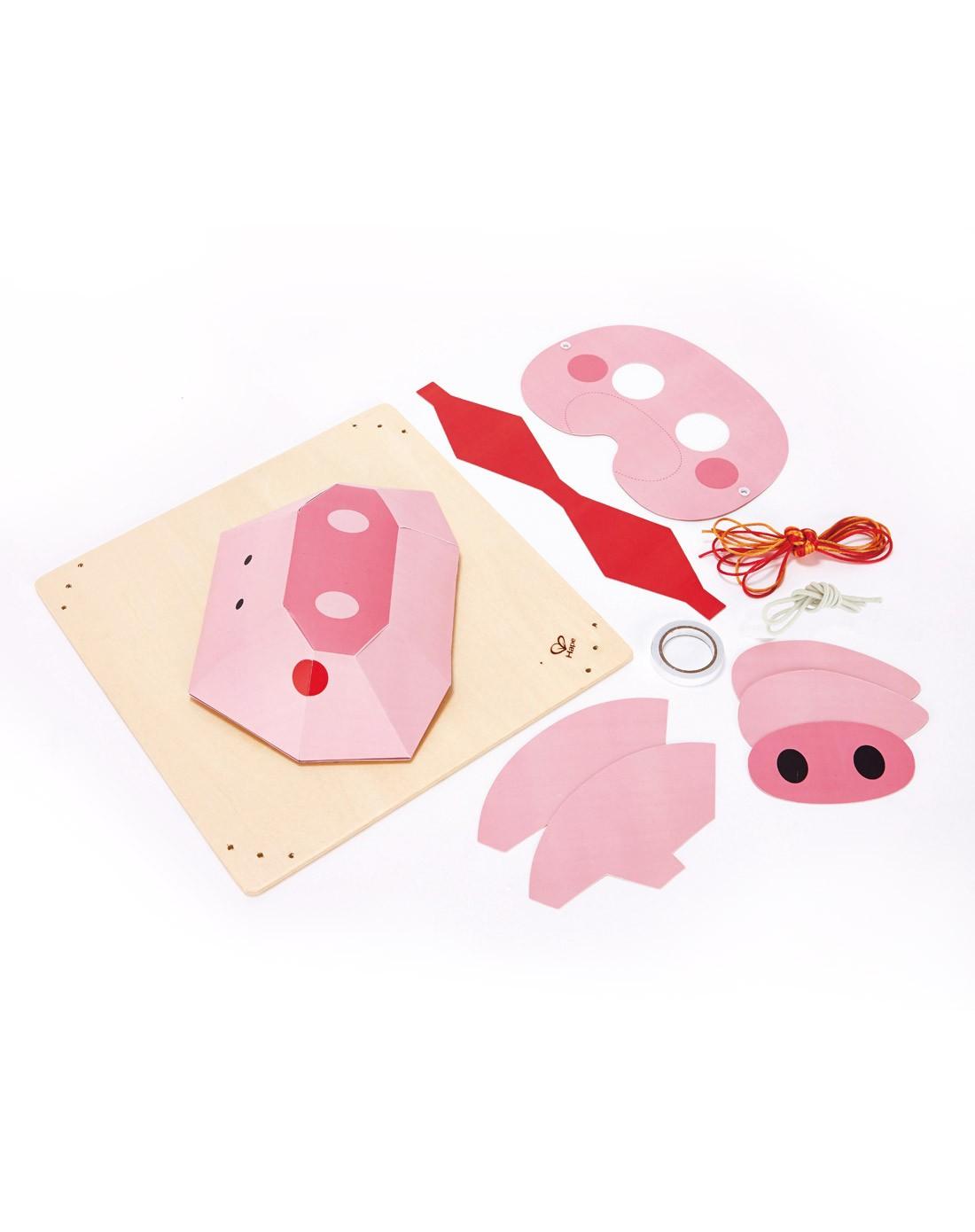 德国hapediy立体折纸画-小猪e5126