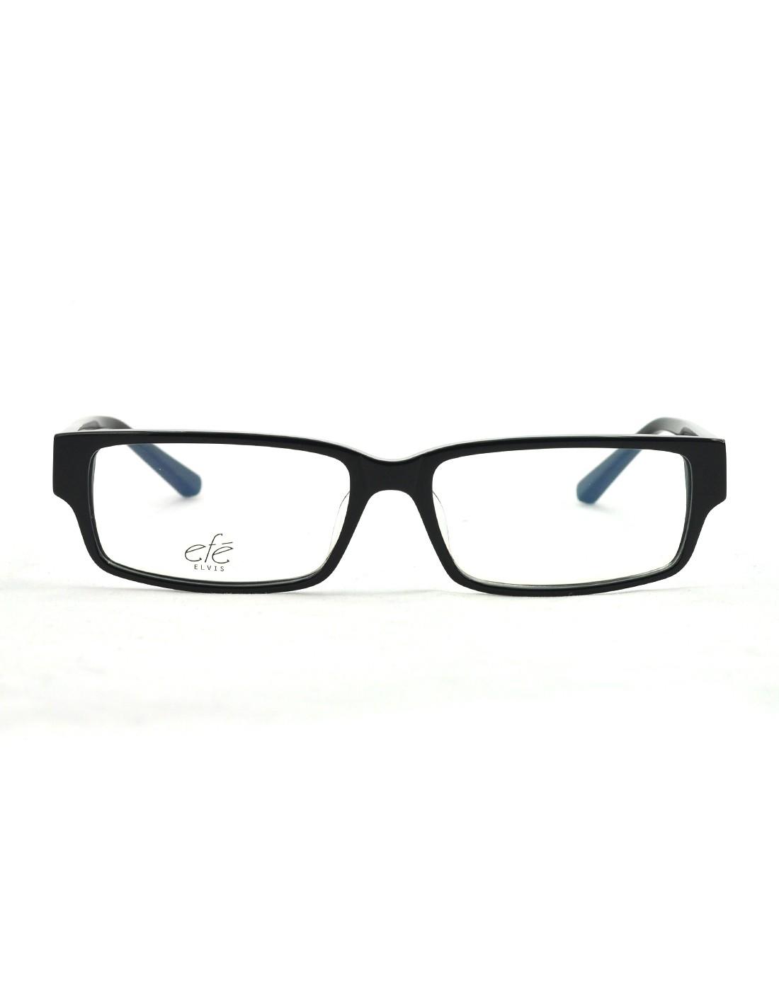 时尚黑框粗框板材眼镜架