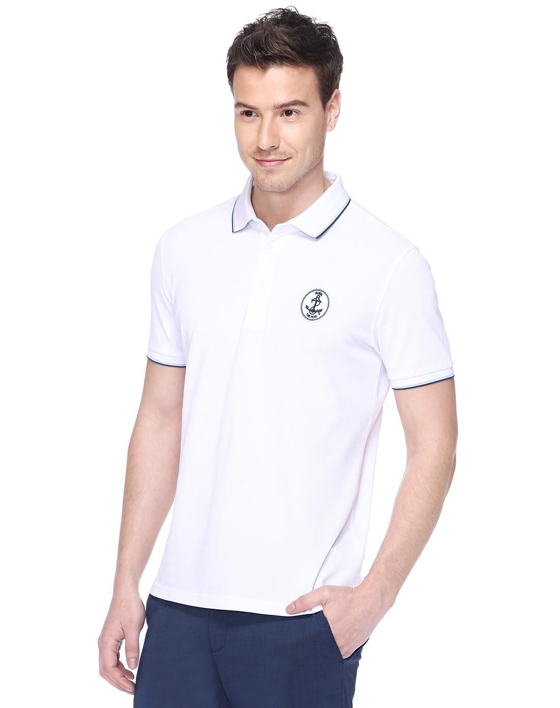纯白短袖t恤