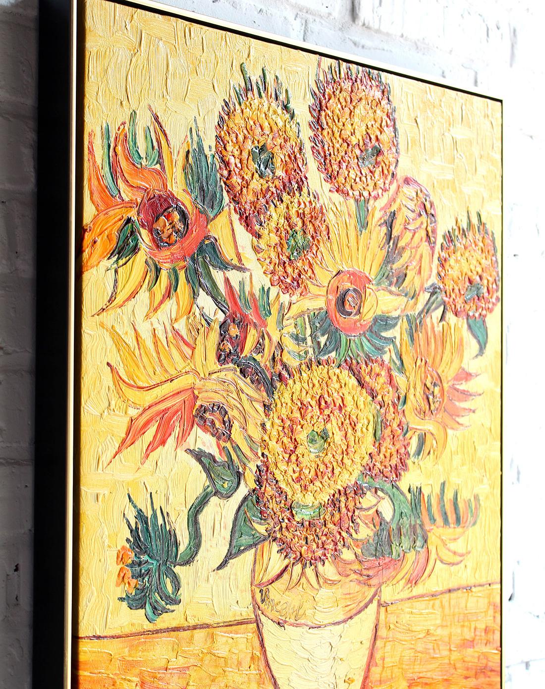 梵高向日葵-纯手绘油画(单幅)