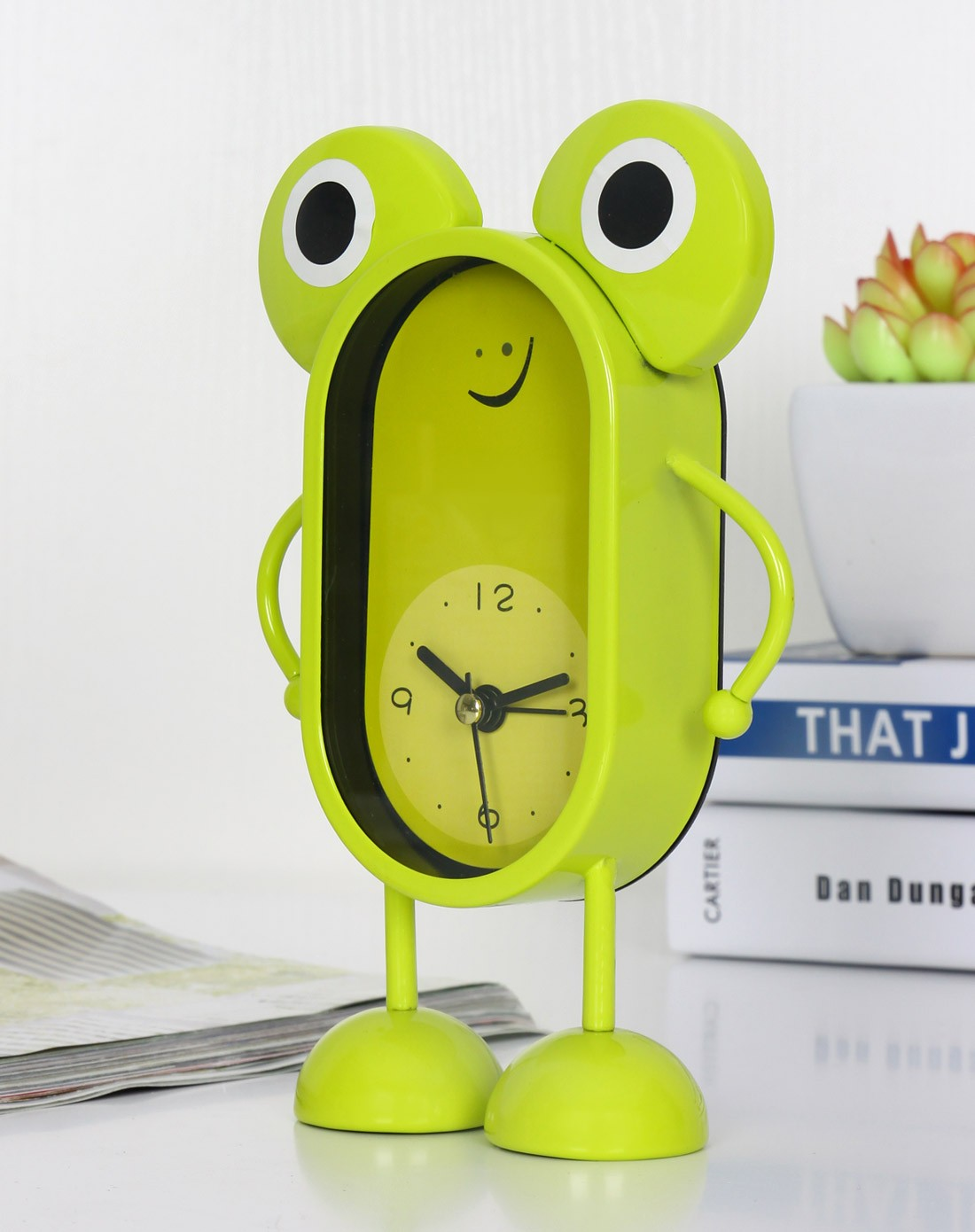 大眼睛青蛙闹钟