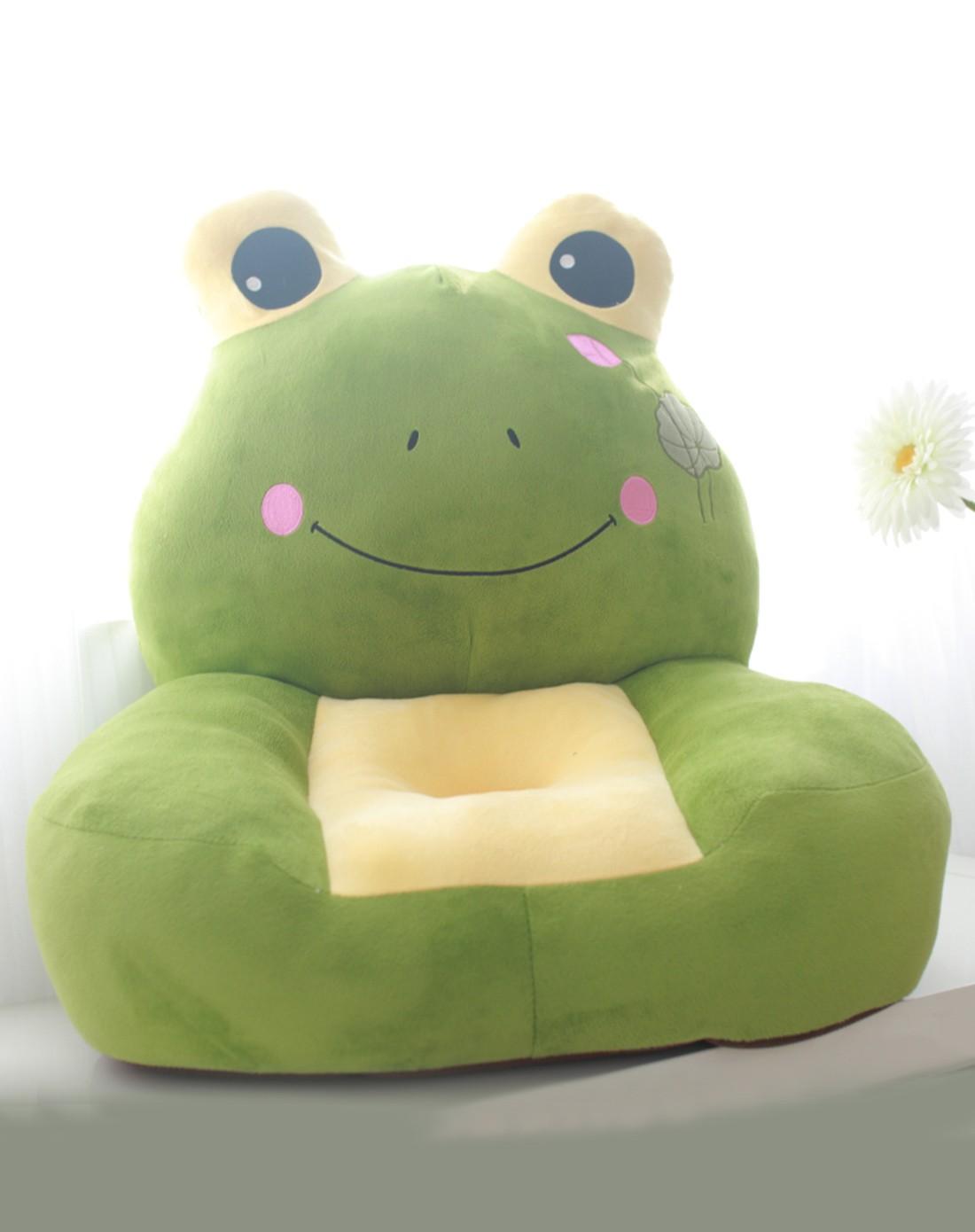 毛绒玩具大结集专场卡通绿色青蛙动物沙发mtw2003890