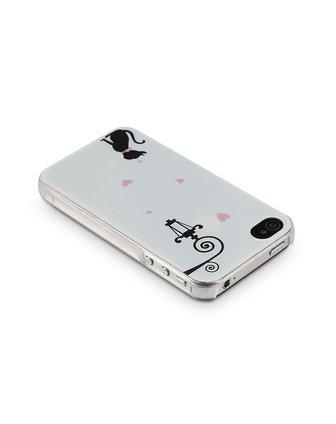 iphone4/4s等待的小猫手机壳