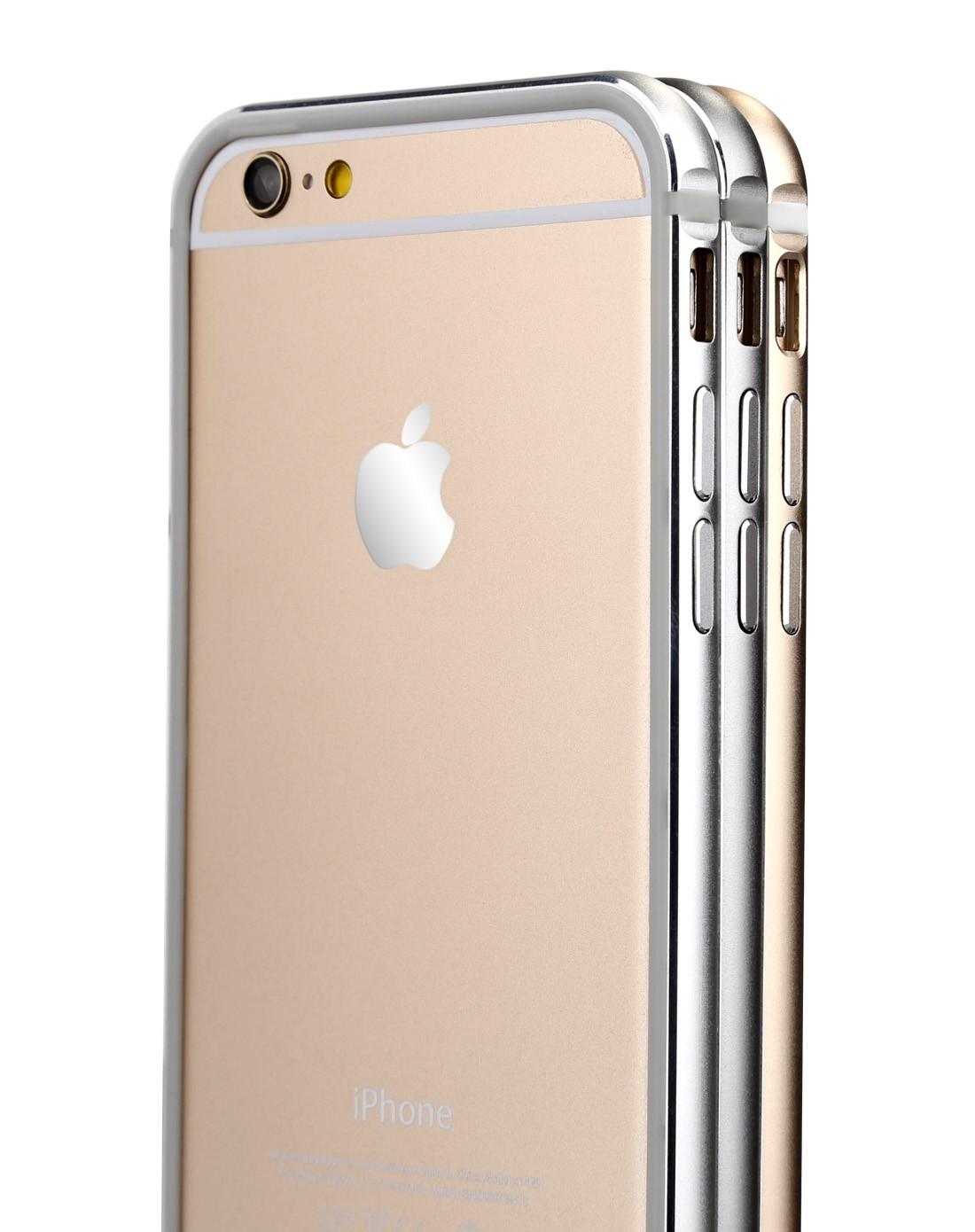苹果配件-洛夫特iphone6银色边框内套tpu边框aa120056
