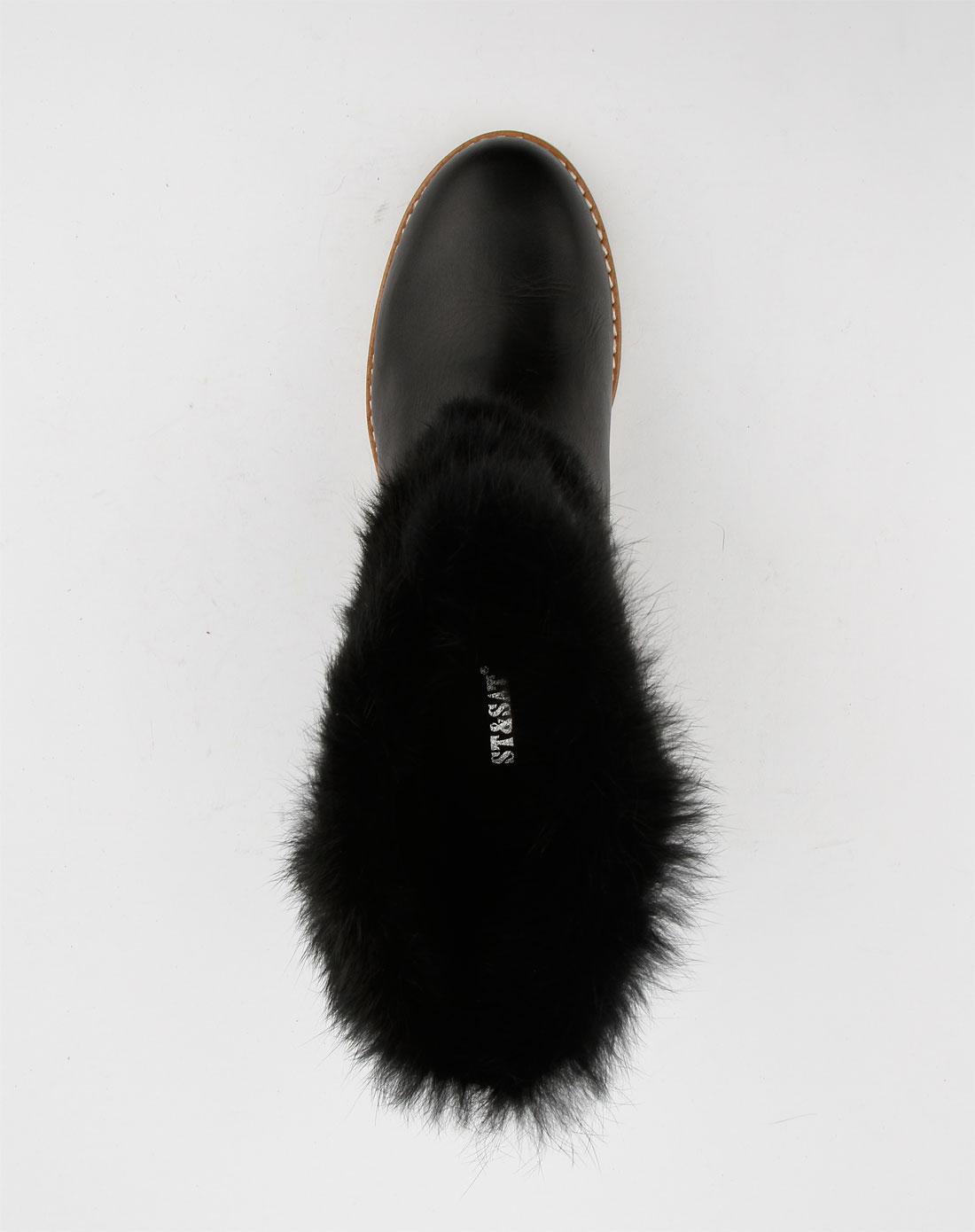 休闲平底短靴ss14s74d