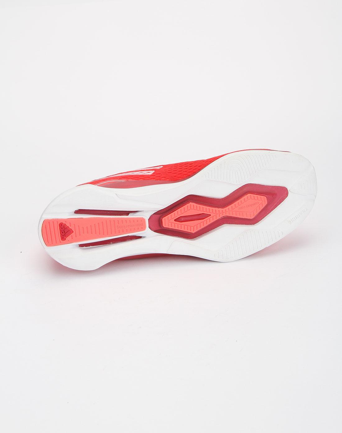 阿迪达斯adidas红色时尚透气超轻运动鞋g46527
