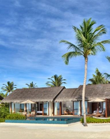 6-8月马尔代夫瑞禧敦岛之旅 4晚水上别墅酒店(双人起拍)
