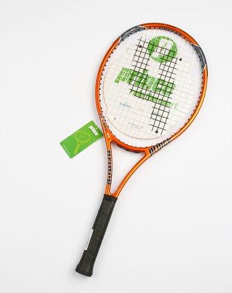 王子tean 26橙色网球拍