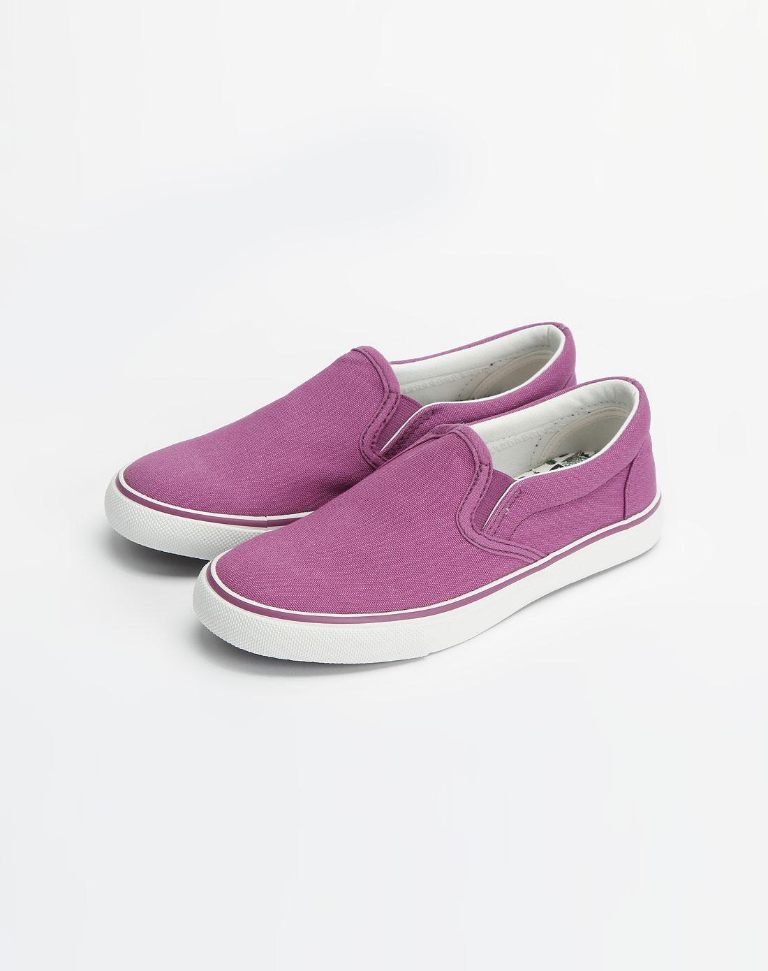ampm 紫色简约休闲鞋