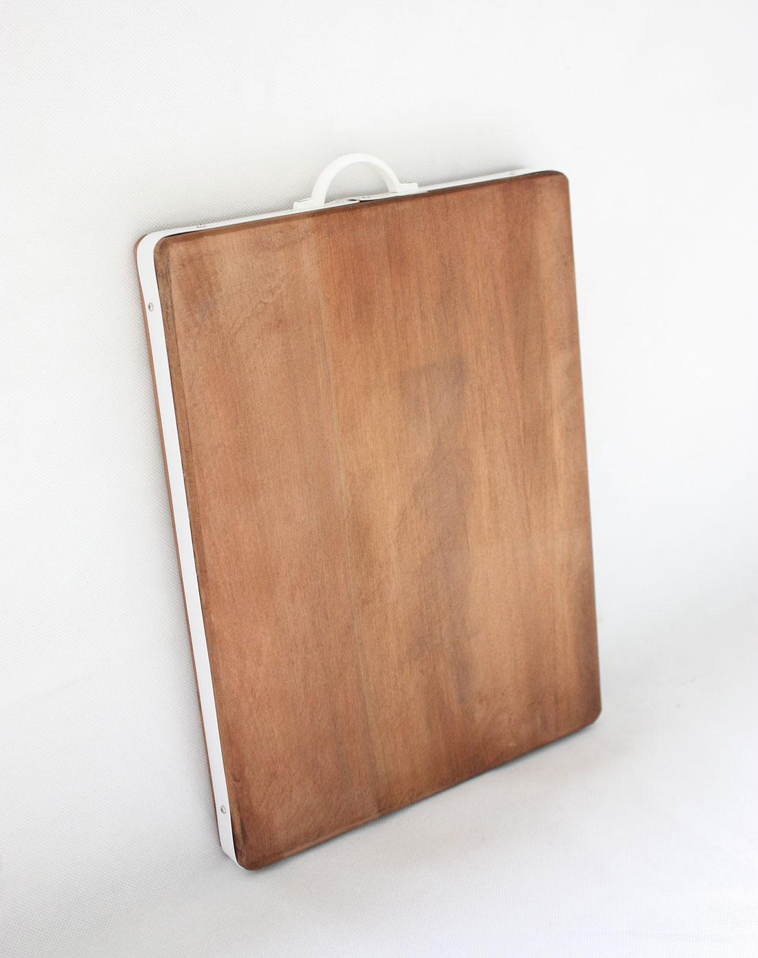 jm家居用品专场深木色金檀木原木砧板(长)bh-2386
