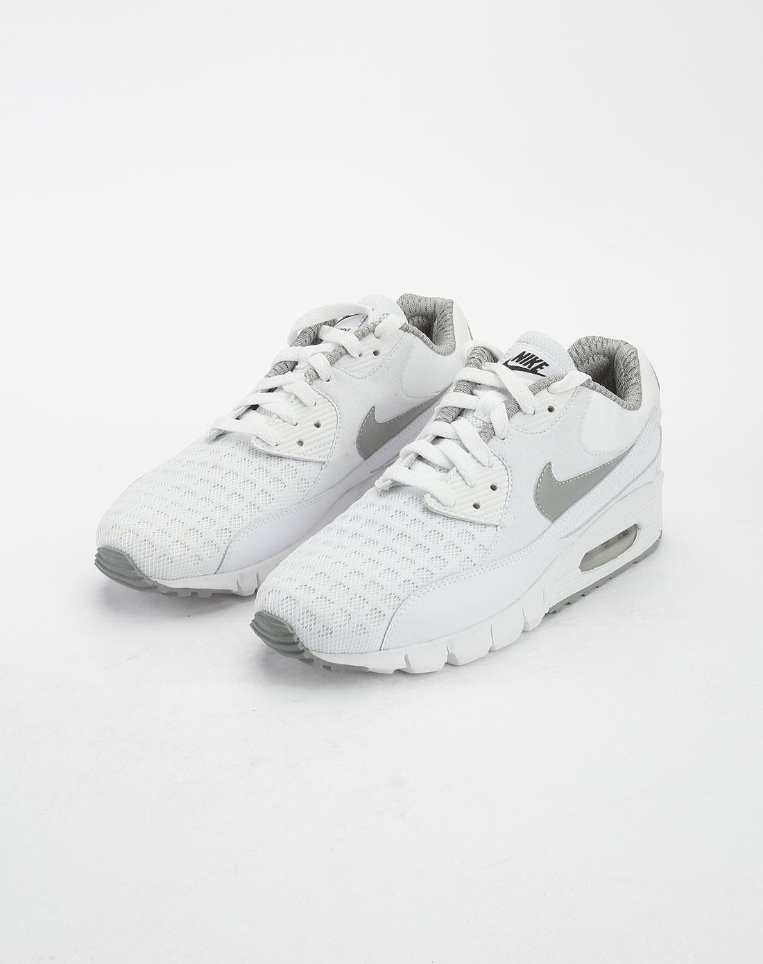 耐克nike男款白色air max系列绑带运动鞋395772-100